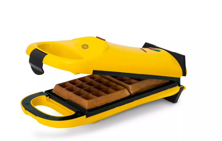 como hacer waffles en sartén