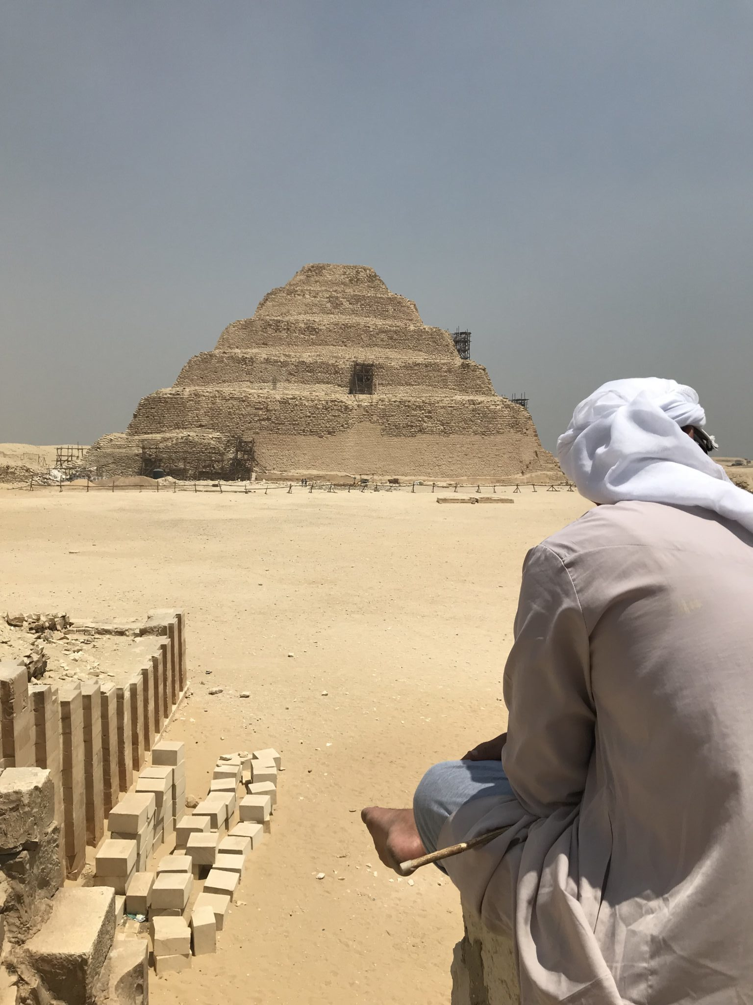 Piramide de Saqqara - Egipto