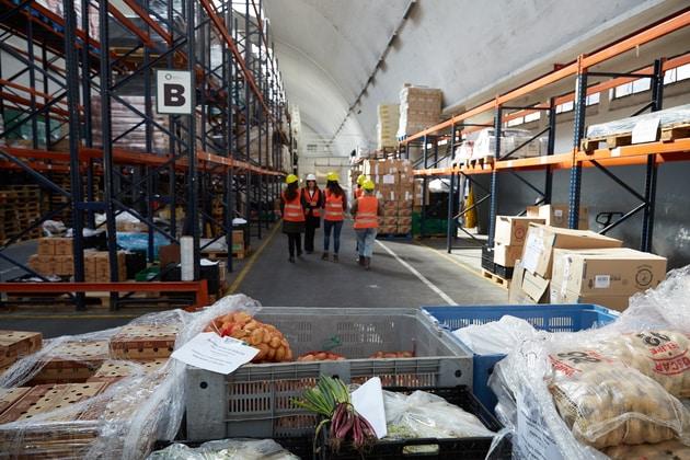 voluntarios banco de alimentos