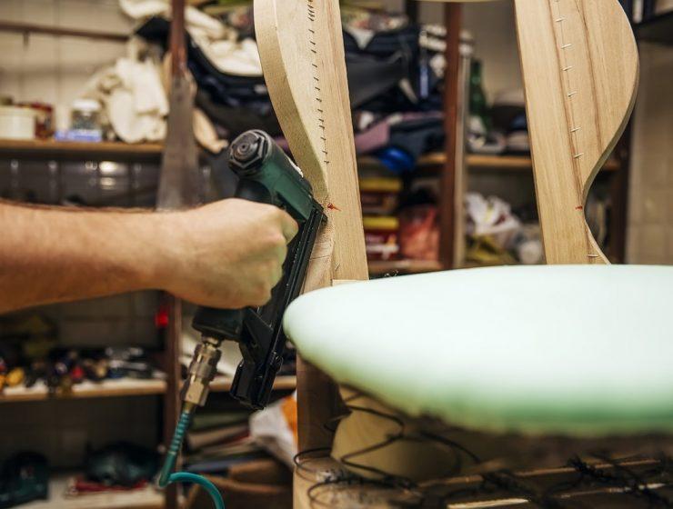 cómo tapizar una silla
