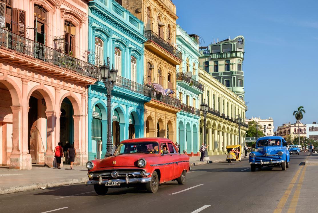 cuba taxi antiguo