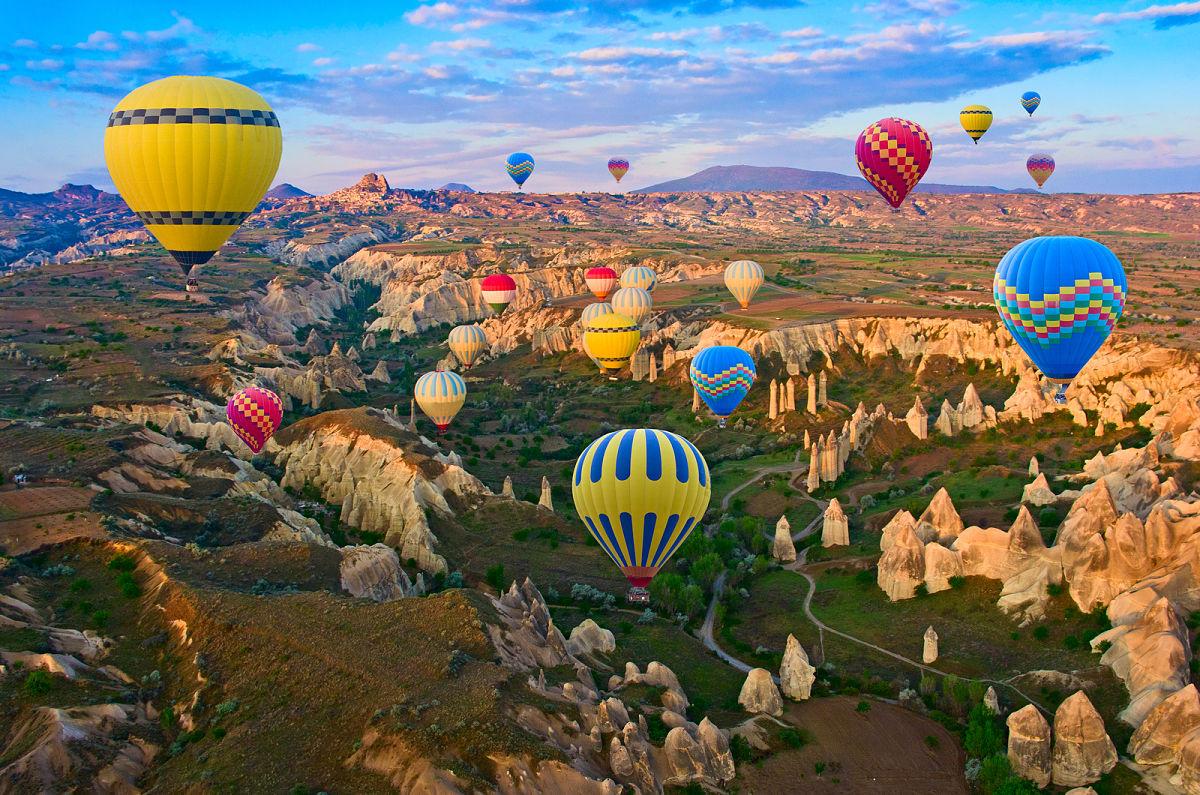 globos aerostaticos turquia