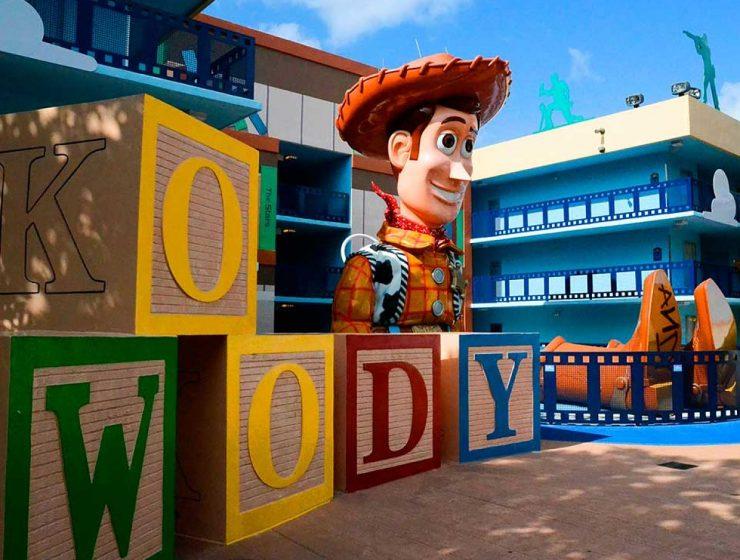 hoteles dentro de Disney