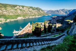 muralla de Kotor Montenegro