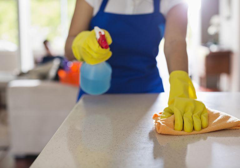 limpiar las superficies