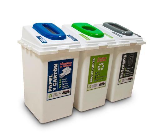 tachos para separar residuos