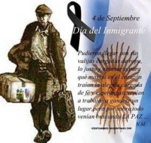 Dia del inmigrante
