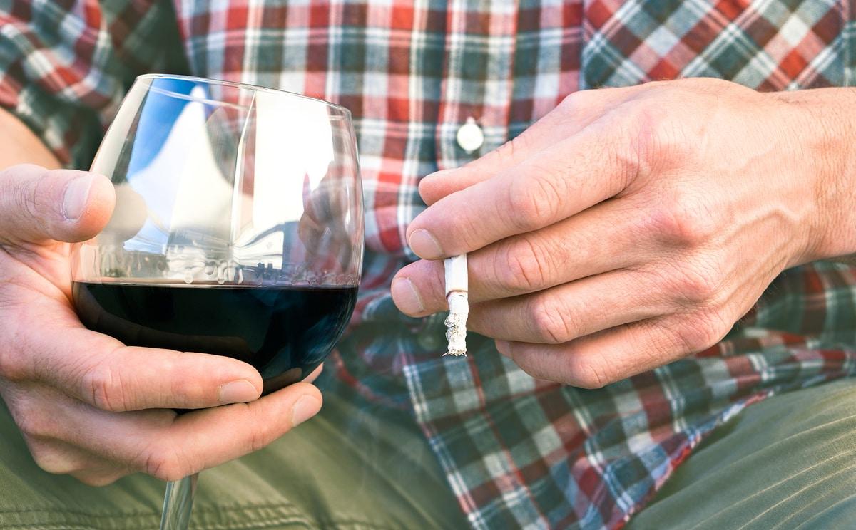 alcohol tabaco cáncer
