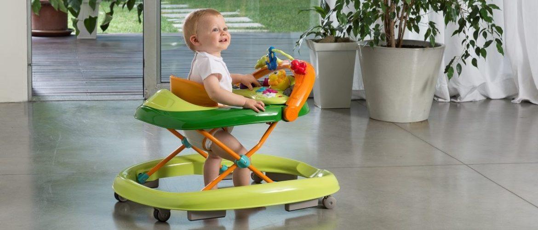 son seguros los andadores bebés