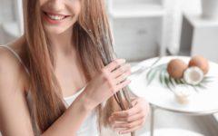 baño de crema para el pelo