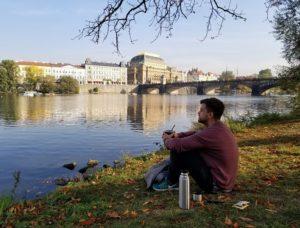 argentinos en Praga
