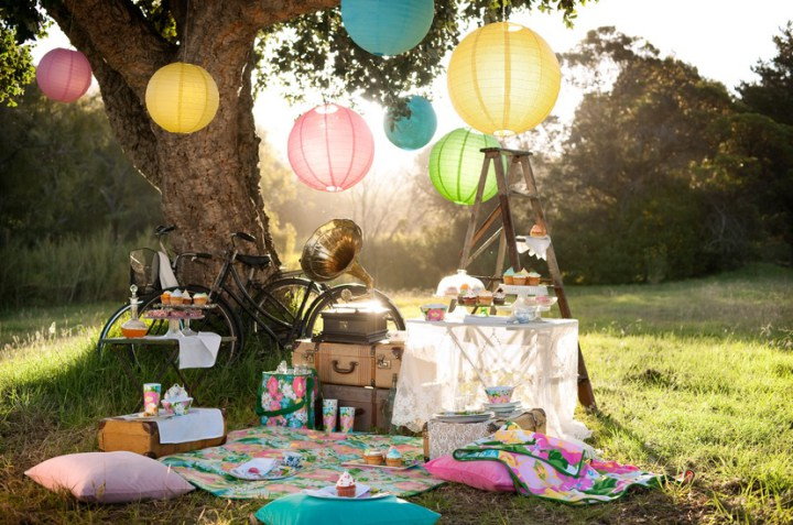 Como decorar un picnic