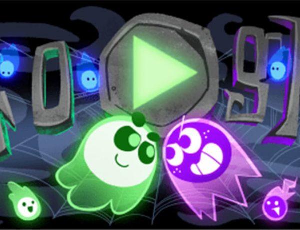 doodle interactivo halloween