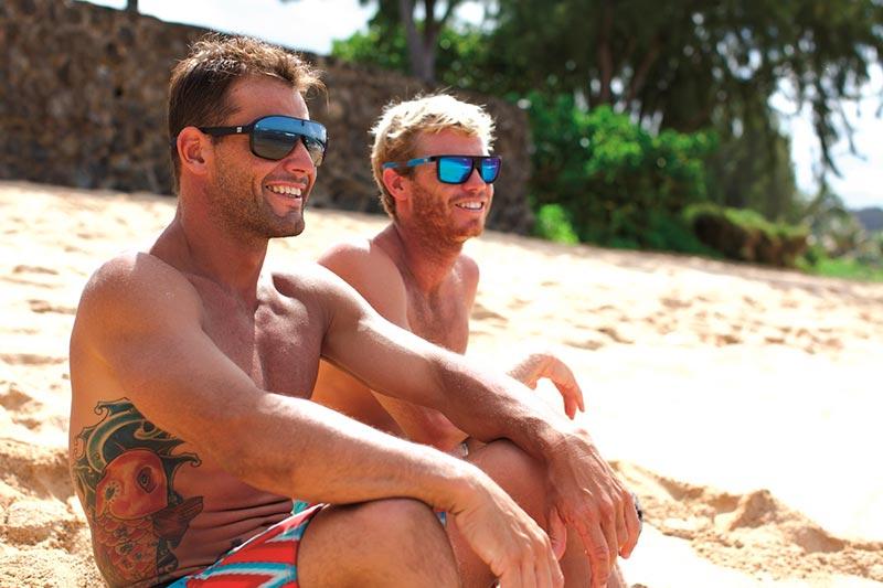 gafas de sol para la playa