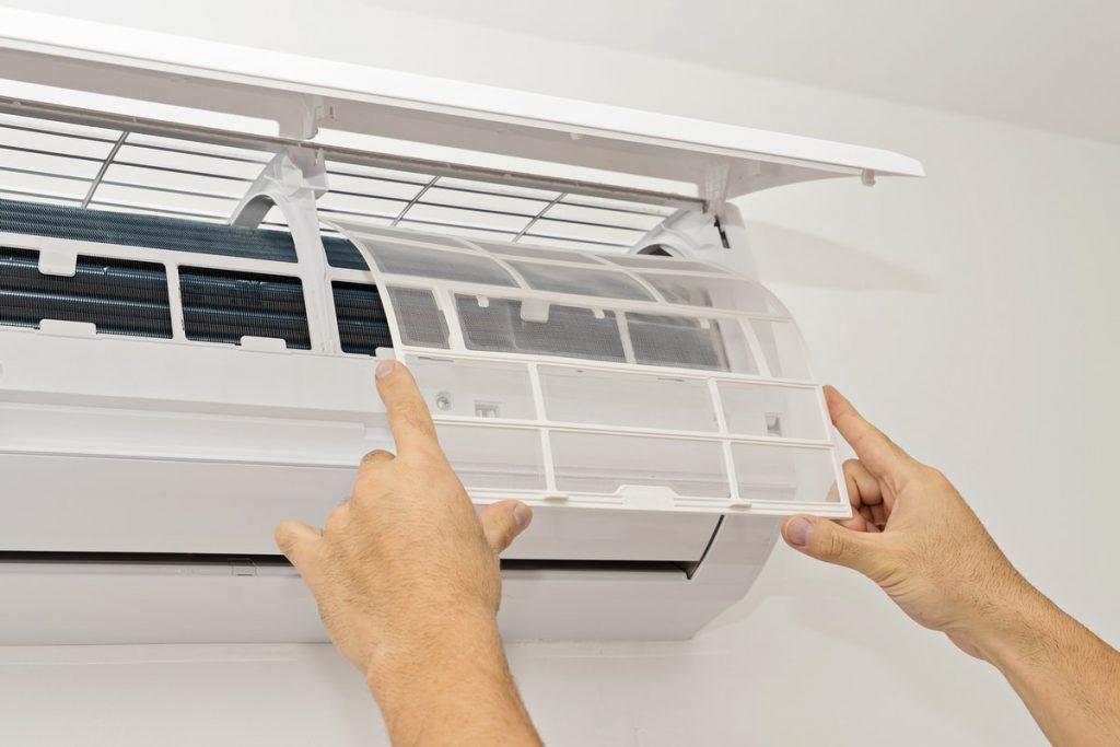 cómo limpiar un aire acondicionado