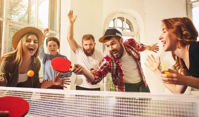Cómo hacer una mesa de ping pong