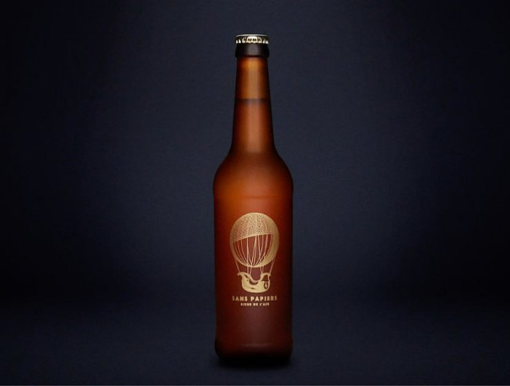 cerveza con aire