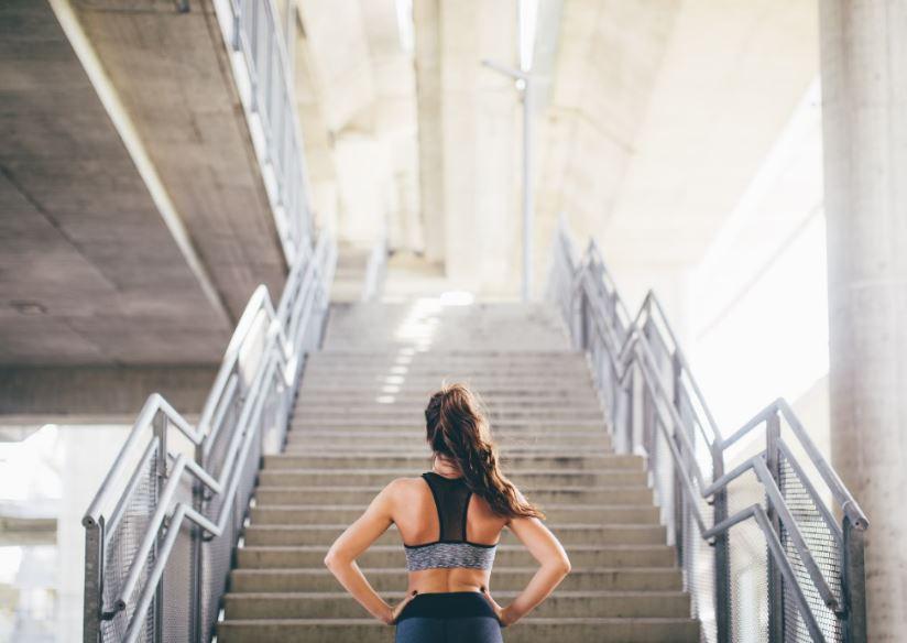 ejercicios en escaleras