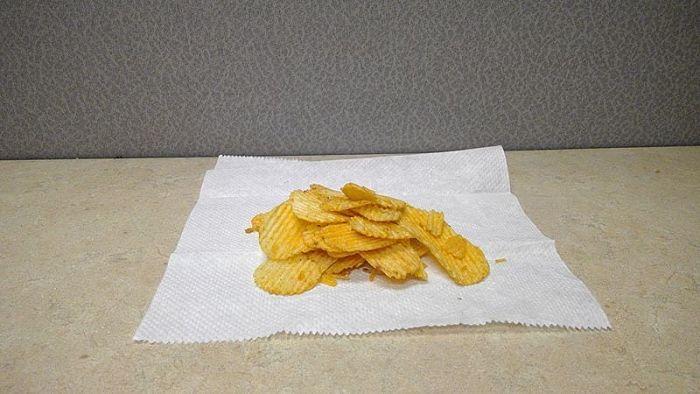 qué hacer si las papas fritas se humedecen