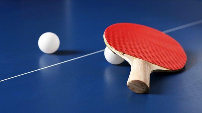Paletas de ping pong