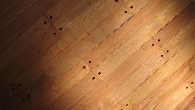 Pisos de madera tarugados