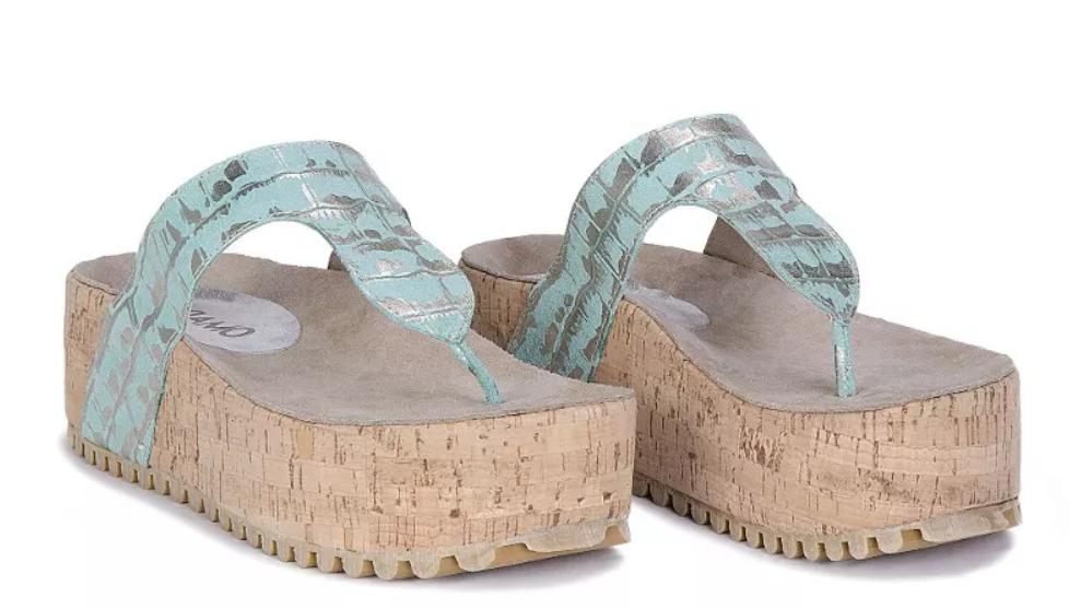 e7dfe9d6 Las sandalias chatitas están de última moda. Los modelos planos o con muy  poca altura marcan la pauta para el día.