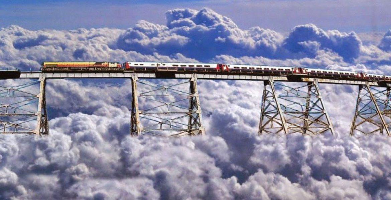 casarse en el tren a las nubes