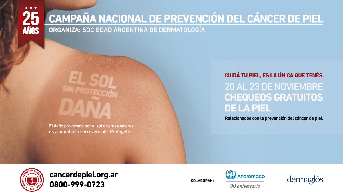 cancer de piel sociedad argentina dermatología