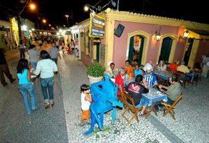 qué hacer de noche en Porto Seguro