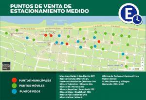 Dónde estacionar en Bariloche