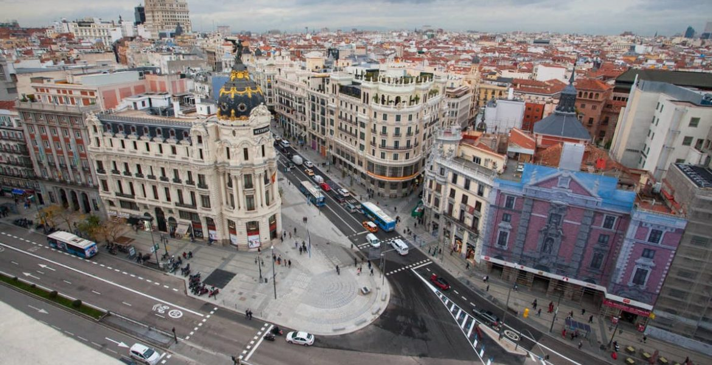 Madrid inaugura gran via