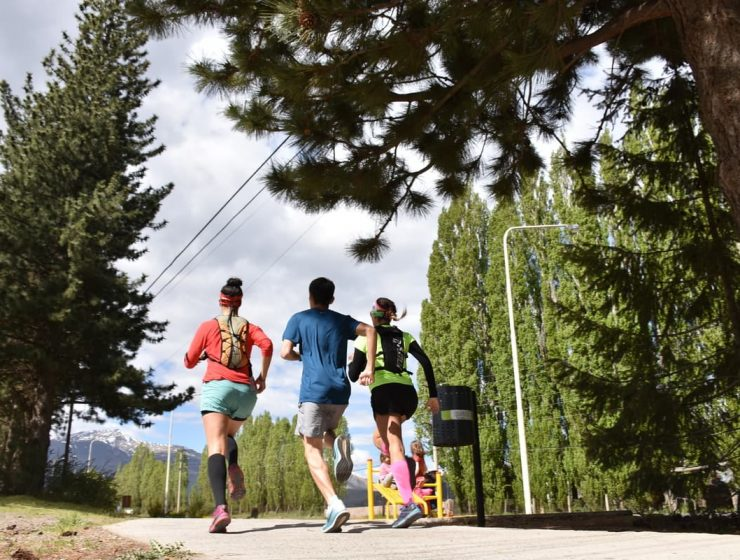 circuitos esquel running y footing