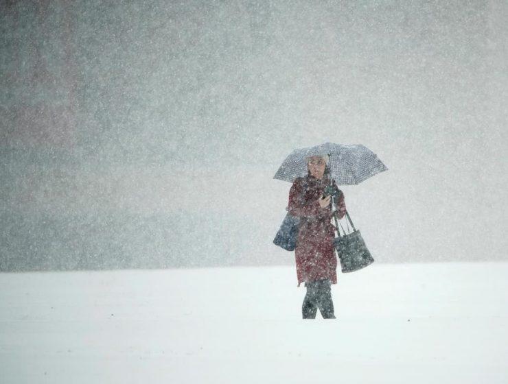 nieve en Nueva York