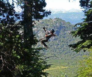 Canopy y aventura en Bariloche