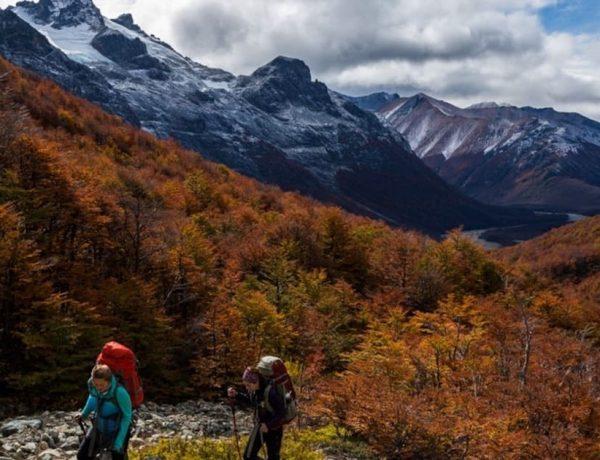 ruta de los parques de la patagonia chilena