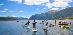 aprender stand up paddle en Bariloche