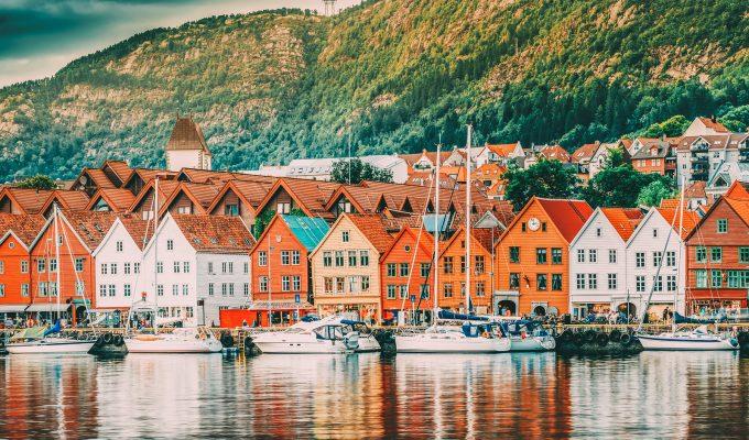 Bergen y los fiordos noruegos