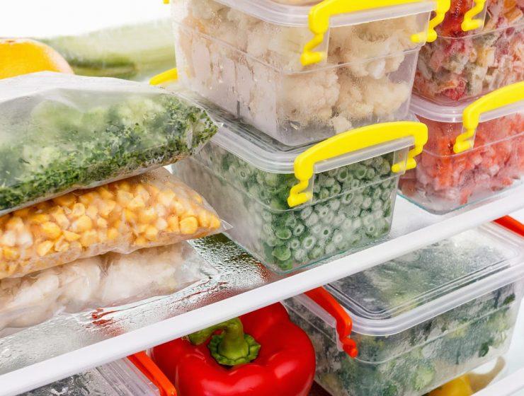 Qué verduras se pueden congelar
