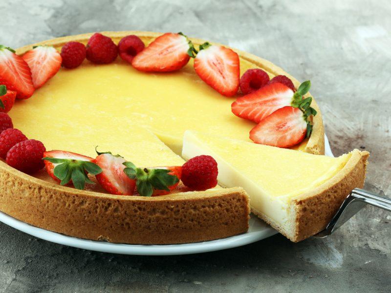 cheesecake de dulce de leche cocido