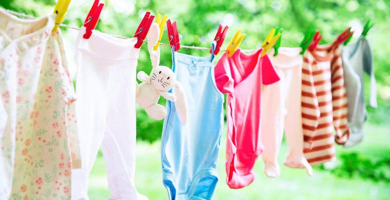 cómo lavar la ropa de bebé