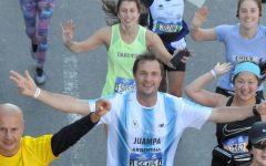 Correr la maratón de Nueva Yorks sonriendo