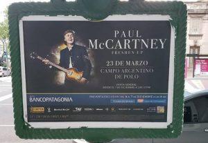 Paul Mc Cartney llega a la argentina