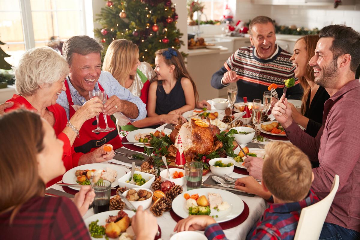 reunion navideña