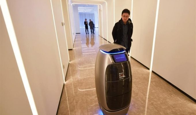 hotel automatizado en china