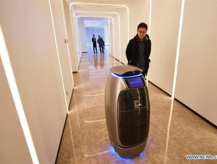 hotel automatizado en china